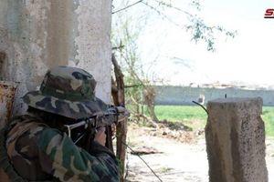 Chùm ảnh: Quân đội Syria cày nát pháo đài của phiến quân ở Đông Ghouta