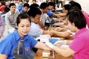 Đoàn thanh niên Bộ GTVT tổ chức hiến máu nhân đạo
