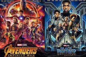 'Avengers: Infinity War' và 'Black Panther' lập thêm kỷ lục chứng minh sức mạnh nhà Marvel