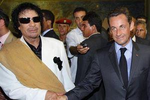Con trai Gaddafi đòi cựu Tổng thống Pháp Sarkozy 82 triệu USD của Libya