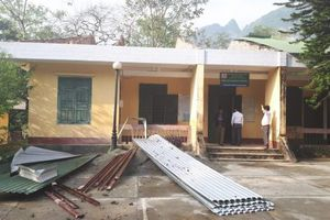 Hà Quảng (Cao Bằng) thiệt hại trên 1,2 tỷ đồng do mưa đá kèm lốc xoáy