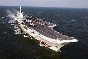 Căng thẳng leo thang, TQ điều tàu sân bay đến eo biển Đài Loan