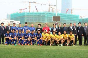 Tổng thống Hàn Quốc giao lưu với đội tuyển U23 Việt Nam