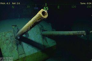 Tìm thấy xác tàu Mỹ bị Nhật đánh chìm trong CTTG 2