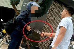 Thêm 1 phóng viên bị côn đồ cầm dao dọa giết tại Bình Định