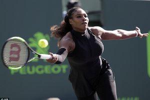 Serena Williams 'gác vợt' sớm tại Miami Open 2018