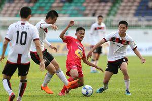 Bầu Đức 'ngự đài', U19 HAGL JMG vẫn thua đối thủ Hàn Quốc