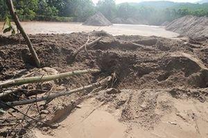 Chỉ đạo xử lý sự cố vỡ đập thải ở bãi vàng Bồng Miêu