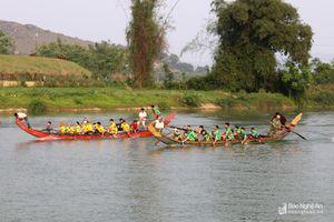 Sôi nổi hội chèo bơi đền Thanh Liệt