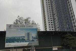 Đồng Phát Park View Tower: Dân vào ở từ lâu, mới nghiệm thu PCCC