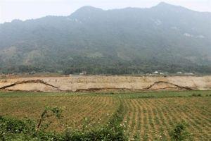 Hà Giang: Bờ đê bao Dự án thủy điện Sông Lô 2 sạt lở gây ảnh hưởng nghiêm trọng