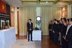 Lễ viếng nguyên Thủ tướng Phan Văn Khải tại Thái-lan