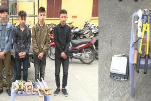 Nhóm thanh niên chuyên trộm cắp hòm công đức, đồ thờ cúng sa lưới