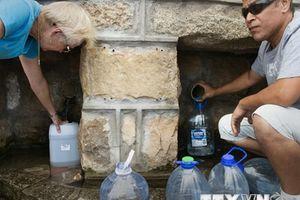 Liên hợp quốc báo động về tình trạng khan hiếm nước sạch trên thế giới