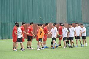 Khai mạc giải bóng đá nam thường niên 'Cúp Công lý' lần thứ nhất