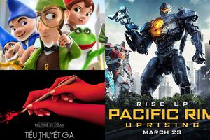 Giải trí cuối tuần với loạt phim hay ngoài rạp, chờ đợi nhất là 'Pacific Rim: Uprising'