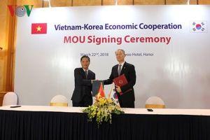 Bộ trưởng Trần Tuấn Anh hội đàm với Bộ trưởng Bộ Thương mại, Công nghiệp và Năng lượng Hàn Quốc
