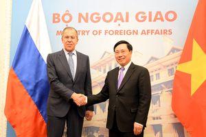 Ngoại trưởng Lavrov: Hợp tác Việt - Nga phục vụ duy trì hòa bình