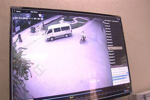 Bắt được trộm nhờ camera an ninh phường
