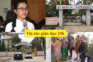 Tin tức giáo dục 24h: Lại thêm một giáo viên bị buộc quỳ gối xin lỗi; Trẻ 2 tuổi chết bất thường