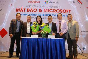 Mắt Bão và Microsoft bắt tay phát triển điện toán đám mây