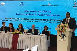 Chỉ số phổ cập tài chính của Việt Nam đang ở mức rất thấp