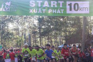 DUT 2018 tiếp tục với đường chạy 10 km