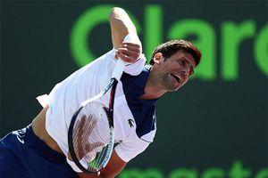 Novak Djokovic lại tiếp tục thua ngay trận ra quân Miami Open 2018