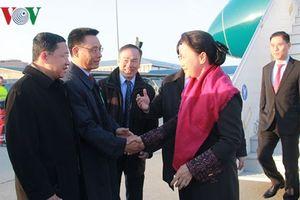 Chủ tịch Quốc hội Nguyễn Thị Kim Ngân đến Geneva (Thụy Sĩ) tham dự IPU-138