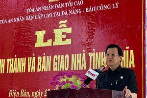 TANDCC tại Đà Nẵng và Báo Công lý bàn giao nhà tình nghĩa cho gia đình liệt sỹ tại Quảng Nam