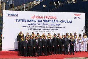 Quảng Nam: Khai trương tuyến hàng hải quốc tế Nhật Bản – Chu Lai