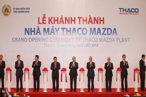 Thaco xây dựng nhà máy ô tô hiện đại nhất Đông Nam Á