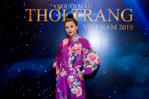 Nguyễn Thị Thành diện cây tím đọ sắc cùng dàn người đẹp