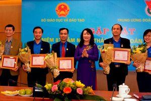 Bộ GD&ĐT trao tặng kỷ niệm chương 'Vì sự nghiệp Giáo dục' cho 8 cán bộ Trung ương Đoàn