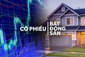 Nhà đầu tư kiếm bộn tiền từ chứng khoán bất động sản