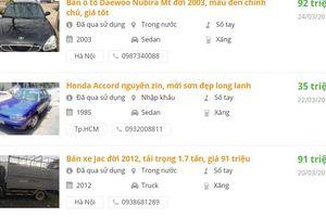 Người Việt săn lùng những mẫu ô tô giá siêu rẻ, dưới 150 triệu đồng để chạy Uber/Grab
