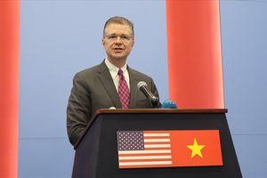 Đại sứ Mỹ lần đầu tiên họp báo sau 4 tháng nhậm chức tại Việt Nam