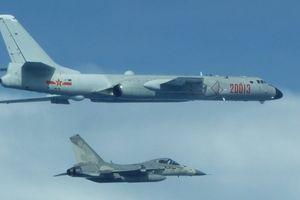 Căng thẳng, Đài Loan tung chiến đấu cơ bám sát máy bay TQ