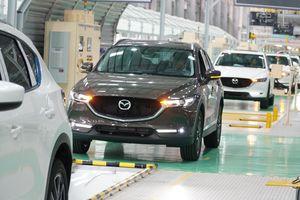 Nhà máy Mazda lớn nhất ĐNA của Thaco có công suất 100.000 xe/năm