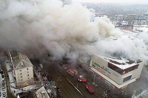 Vụ cháy trung tâm thương mại ở Nga là do bất cẩn