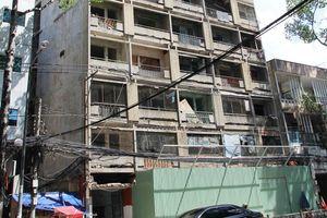 TP Hồ Chí Minh:Tháo dỡ 7 chung cư bị hư hỏng nặng, nguy hiểm