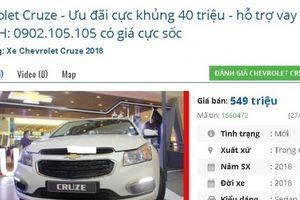 Lại một chiếc ô tô 'mới cóng' nữa đang bán tầm giá 500 triệu đồng tại Việt Nam