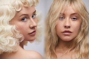 Christina Aguilera trẻ trung ngỡ ngàng với mặt mộc không son phấn