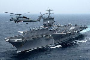 Hải quân Ấn Độ, Mỹ khoe tàu chiến trong diễn tập chung