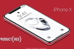 Nóng: Đây là iPhone X màu đỏ, có thể Apple sẽ ra mắt ngay trong đêm nay