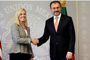 Hoa Kỳ và Mexico ký thỏa thuận đẩy mạnh hợp tác biên giới