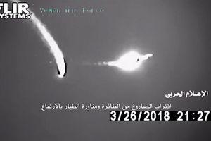 Pha thoát đòn may mắn của F-16 UAE