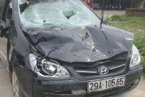 Ôtô của Chủ tịch xã đâm 4 học sinh: Thông tin sốc