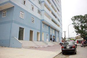 Di dời 79 hộ dân khỏi chung cư 18 tầng chưa hoàn thành hệ thống PCCC