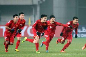 Tăng 10 bậc, tuyển Việt Nam leo lên vị trí thứ 103 thế giới